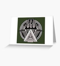 Stargate Command Greeting Card