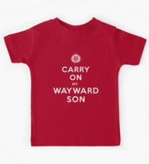 Carry on (My wayward son) Kids Tee