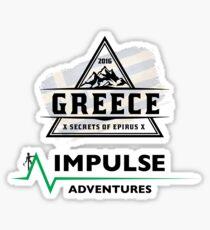Secrets of Epirus Stationary Sticker