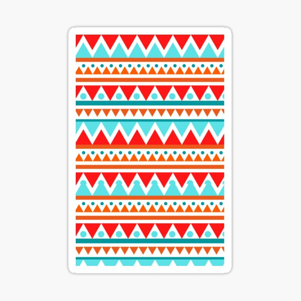 Eye-catching Patterns!!! Sticker