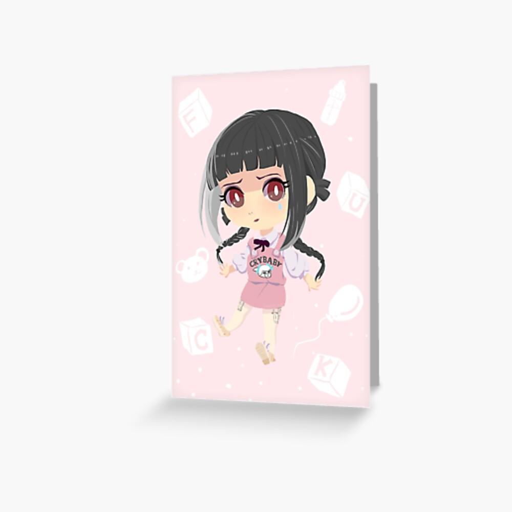 Crybaby// Greeting Card
