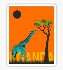 Uganda v2 Sticker