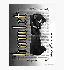 Hamlet Shakespeare David Tennant Soliloquy Must I Remember Photographic Print