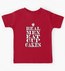 Real Men Eat Cupcakes Kids Clothes