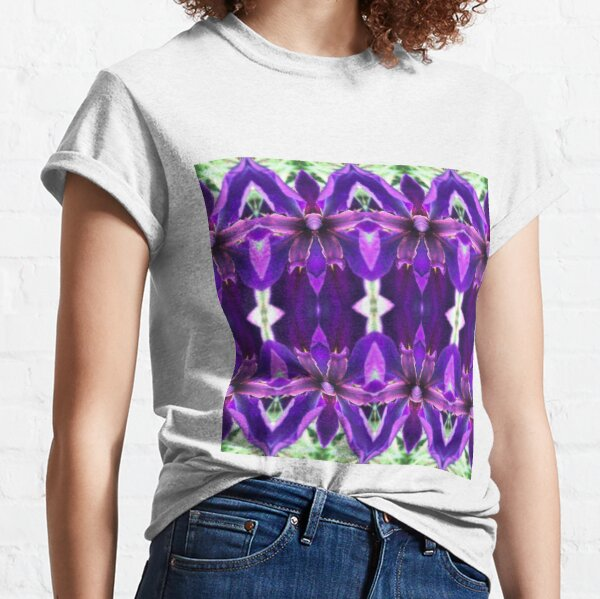 Purple Iris Guard Classic T-Shirt