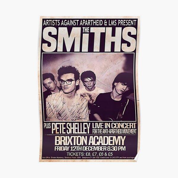 The Smiths 1986 Das Abschlusskonzert Poster