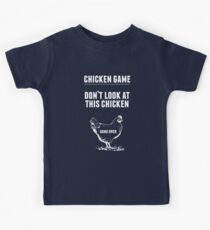 Chicken Game T-Shirt | Funny Chicken Joke Kids Tee