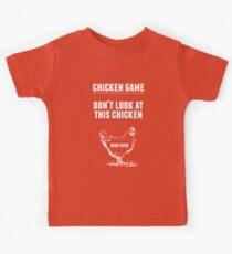 Chicken Game T-Shirt   Funny Chicken Joke Kids Clothes