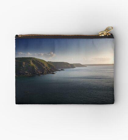 Cornish Coast Zipper Pouch