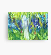 For the love of nature Canvas Print