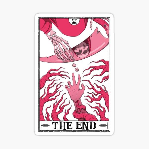 """The End """"Tarotesque"""" (Light) Sticker"""