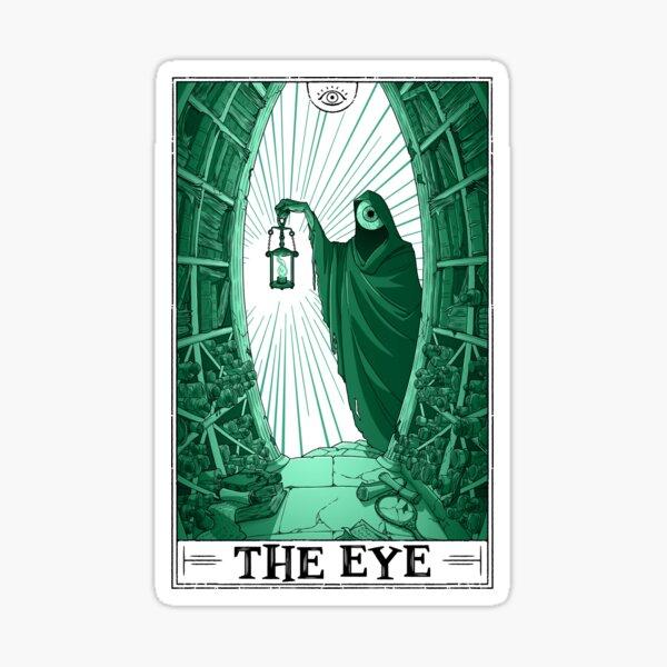 """The Eye """"Tarotesque"""" (Light) Sticker"""
