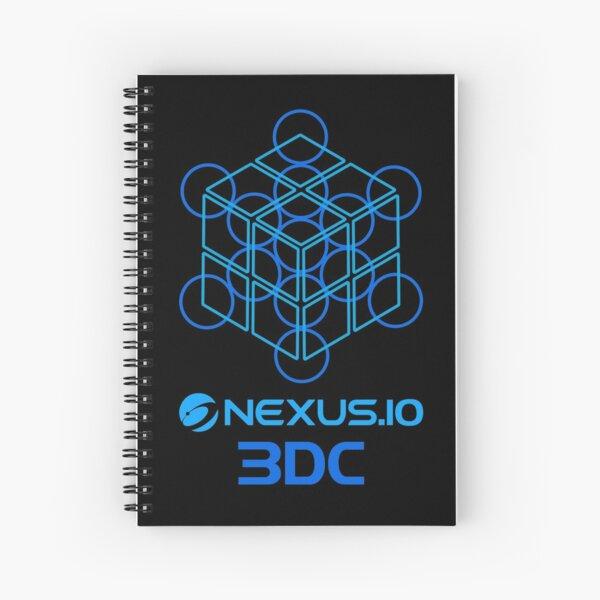 Nexus Official 3DC Blockchain Spiral Notebook