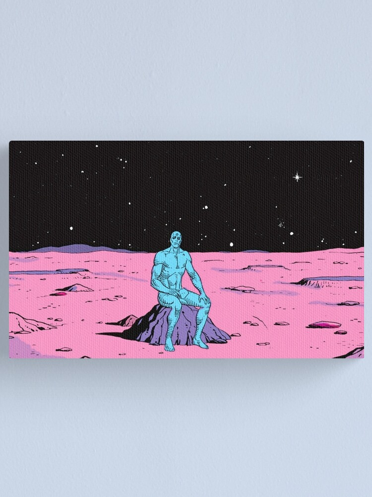 Alternate view of The Watchmen - Dr Manhattan Canvas Print