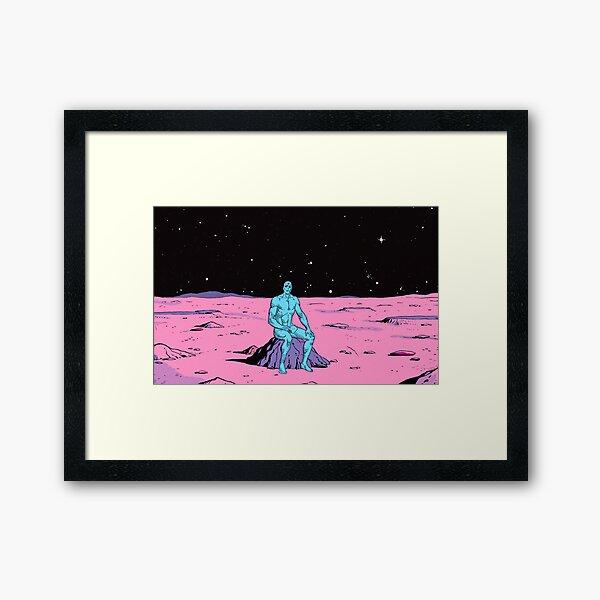 The Watchmen - Dr Manhattan Framed Art Print