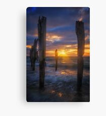 Kingscote Pier Canvas Print