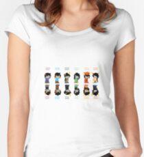 Homestuck Trolls Women's Fitted Scoop T-Shirt