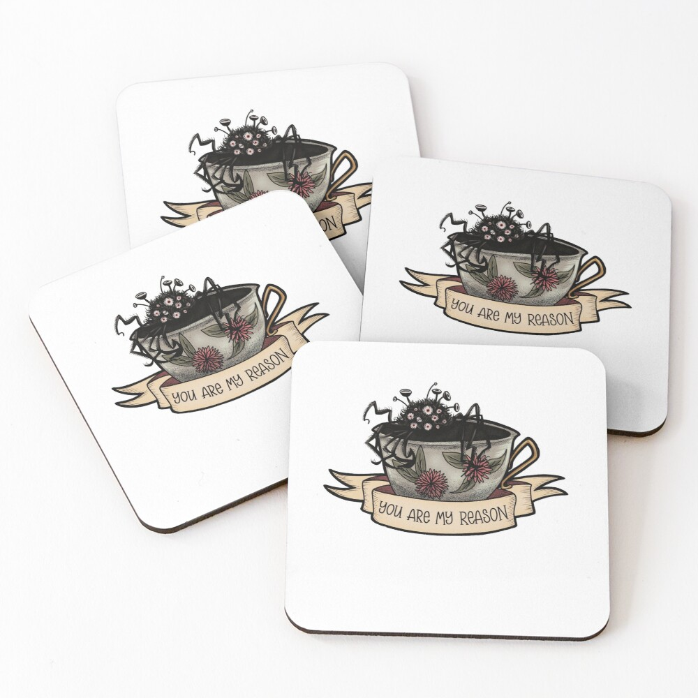 You Are My Reason Coasters (Set of 4)