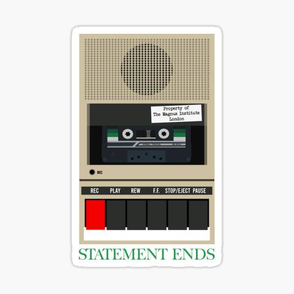 Statement Ends Sticker