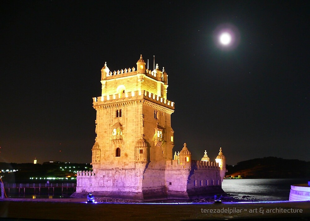 Belém Tower.Portugal by terezadelpilar ~ art & architecture