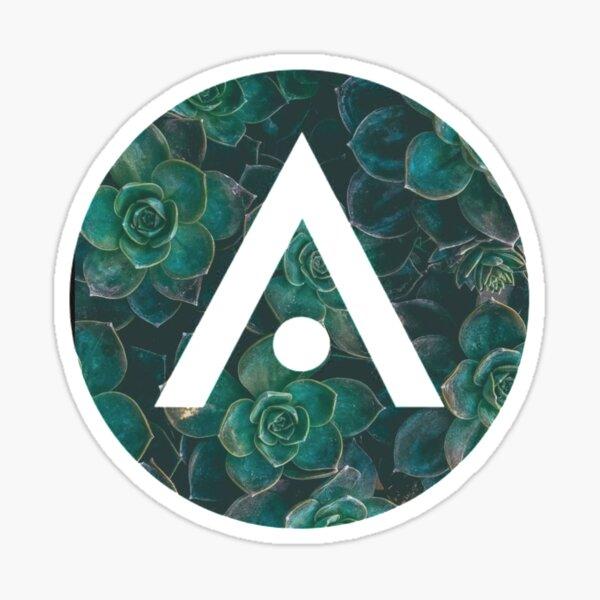 Succulent Aveda Logo Sticker