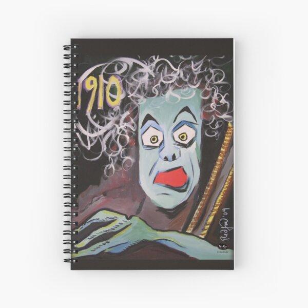 """""""Frankenstein 1910"""" by Mark Redfield Spiral Notebook"""