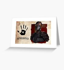 TES Dark Brotherhood Greeting Card