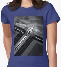 sun rise Womens Fitted T-Shirt