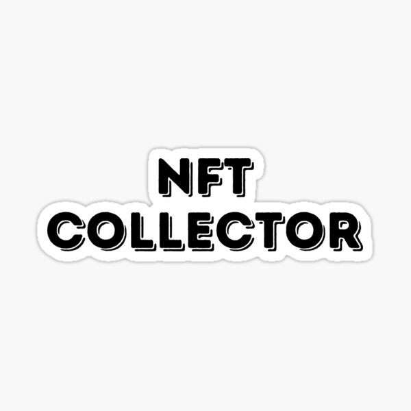 NFT Collector Sticker