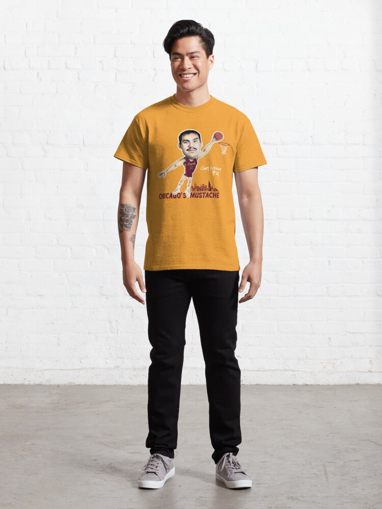 Alternate view of Chicago's Mustache Classic T-Shirt