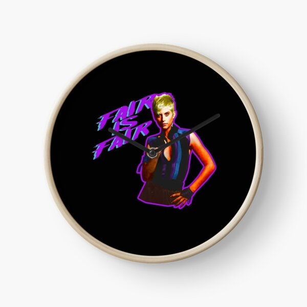 80's Classic Legend of Billie Jean Fair-Is-Fair  Clock