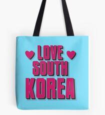 LOVE SOUTH KOREA Tote Bag