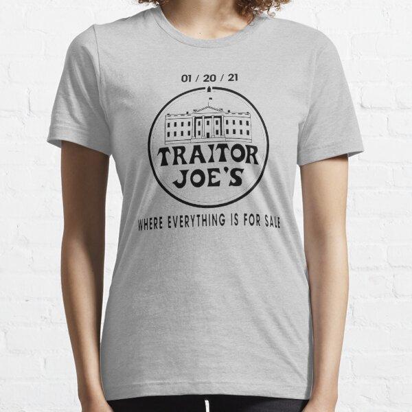 biden is not my president, traitor joes, traitor joe's, anti biden, pro america Essential T-Shirt