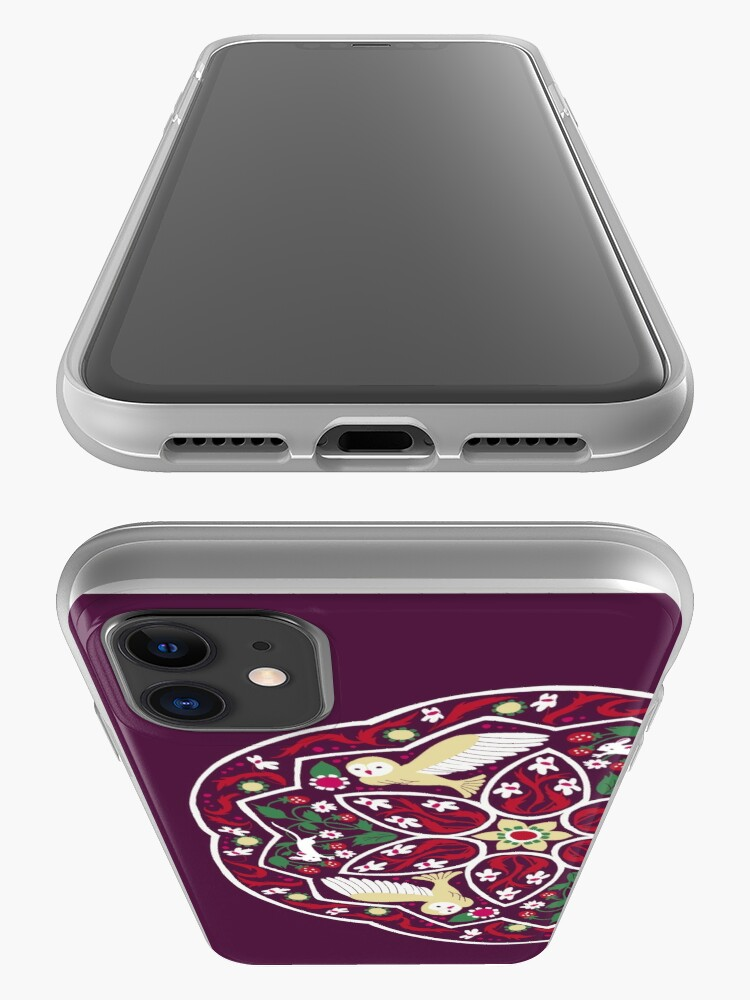 Alternate view of Owl and Mouse iPhone Case & Cover