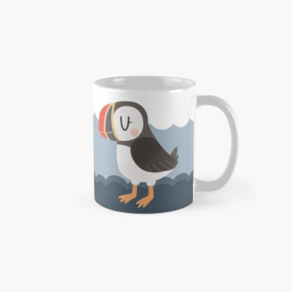 Puffins In Love Classic Mug