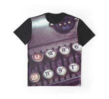 Vintage Cash Register Graphic T-Shirt