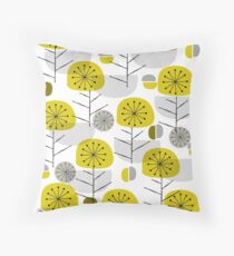 Yellow Nature Throw Pillow
