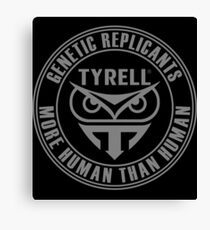 TYRELL CORPORATION - BLADE RUNNER (GREY) Canvas Print