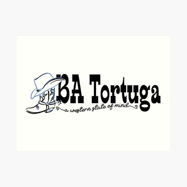 BA logo Art Print