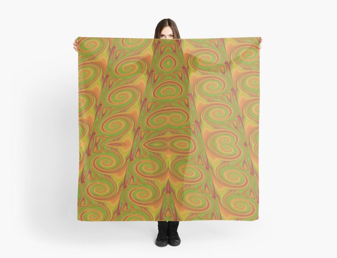 Twirling in Orange by coribeth