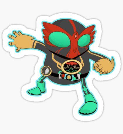 Kamen Rider OOO  Sticker