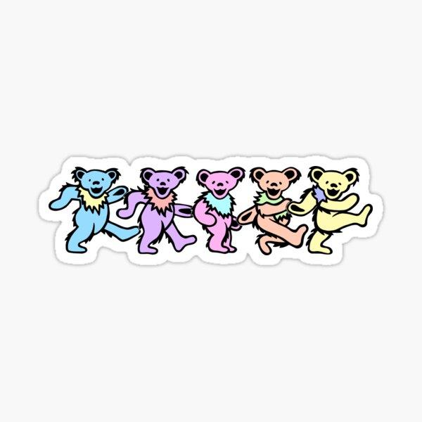 dead bears Sticker