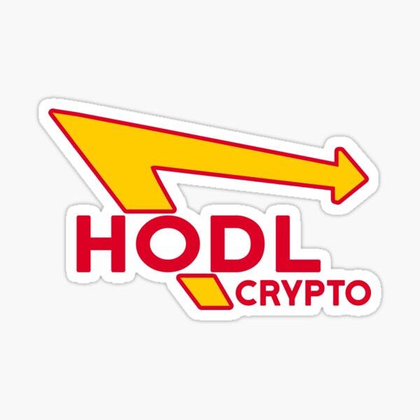 HODL Crypto Sticker