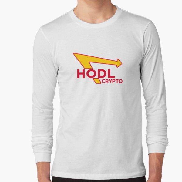 HODL Crypto Long Sleeve T-Shirt