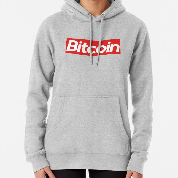 Bitcoin Supreme Pullover Hoodie