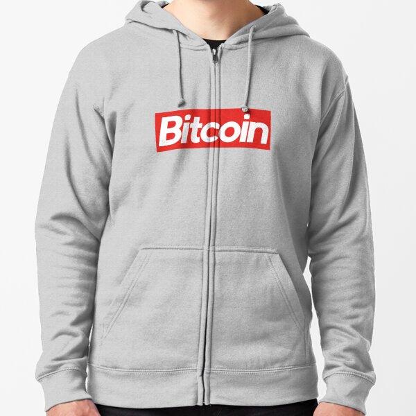 Bitcoin Supreme Zipped Hoodie