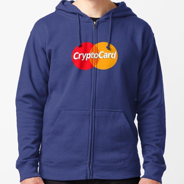 CryptoCard Zipped Hoodie