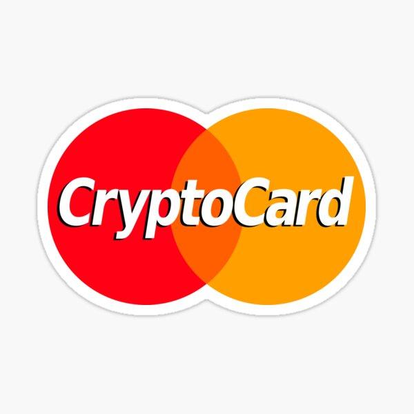 CryptoCard Sticker