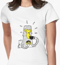Monkey with coffee in the morning T-Shirt