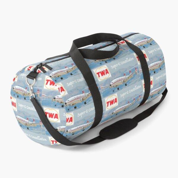 TWA Lockheed Super-G Constellation Duffle Bag